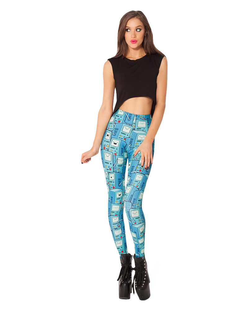 Calça Legging Hora de Aventura - Adventure Time
